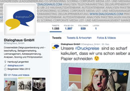 twitter Infocenter Dialoghaus Media Sales